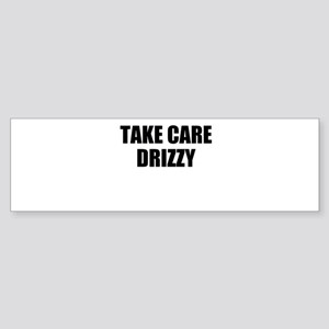 take care - drizzy Sticker (Bumper)