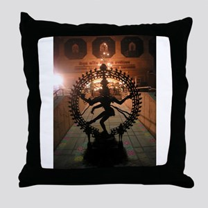 Nataraja Throw Pillow