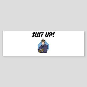 suit up! Sticker (Bumper)