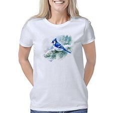 Watercolor Blue Jay Women's Classic T-Shirt