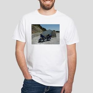 Motorcycles White T-Shirt