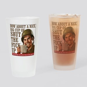 Think Before Drinking Glass