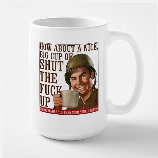 Think Before Large Mug