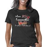 HELL FREEZES DARK DEVIL Women's Classic T-Shirt