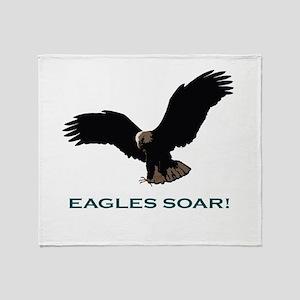 Eagles Soar! Throw Blanket