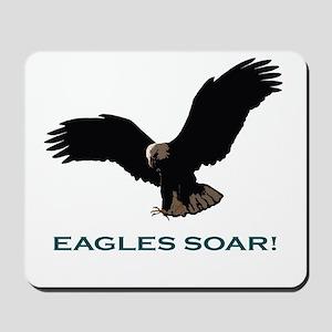 Eagles Soar! Mousepad