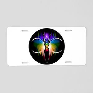 Chakra Goddess Aluminum License Plate