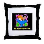 Fellowship of Joy Throw Pillow