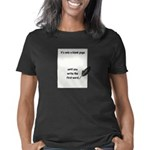 BLANK PAGE copy Women's Classic T-Shirt