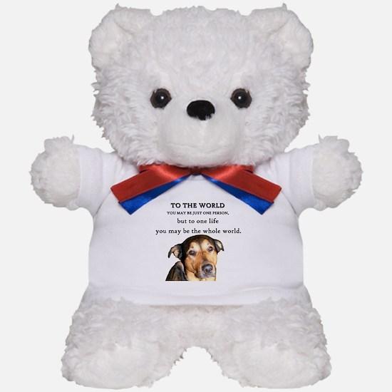 Unique Respect Teddy Bear