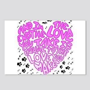 Equal to the Love you Make Postcards (Package of 8