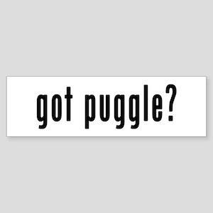 GOT PUGGLE Sticker (Bumper)
