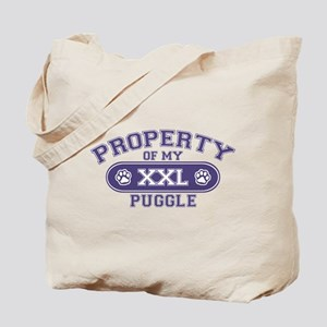 Puggle PROPERTY Tote Bag