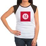 Fiery Formal Monogram Women's Cap Sleeve T-Shirt