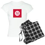 Fiery Formal Monogram Women's Light Pajamas