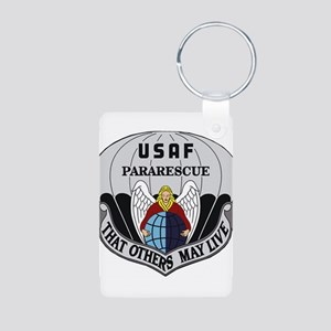 Pararescue Items Aluminum Photo Keychain