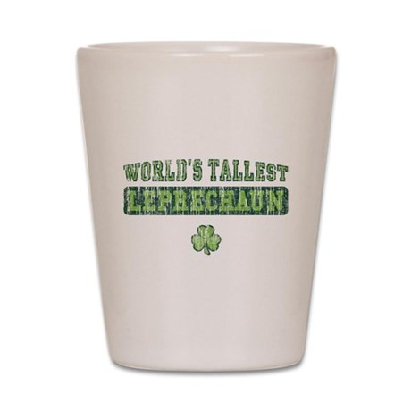 'Vintage' Tallest Leprechaun [old] Shot Glass