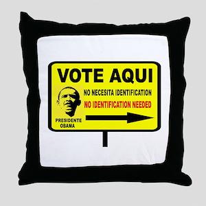 EVERYBODY VOTES Throw Pillow