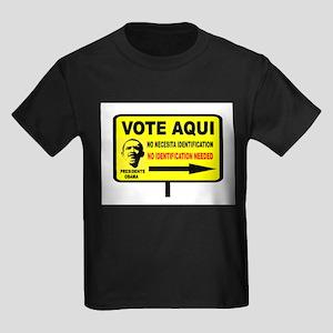 EVERYBODY VOTES Kids Dark T-Shirt
