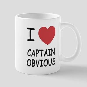 I heart captain obvious Mug