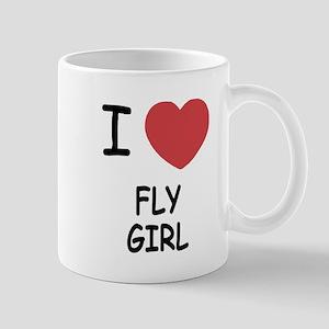 I heart fly girl Mug