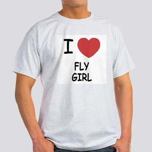 I heart fly girl Light T-Shirt
