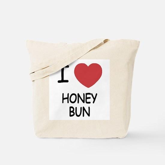 I heart honey bun Tote Bag