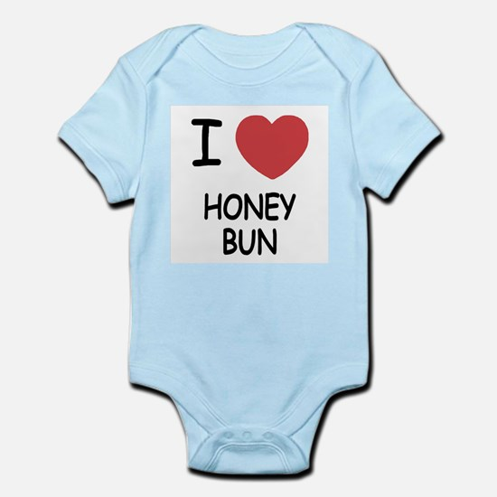 I heart honey bun Infant Bodysuit