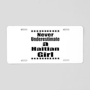 Never Underestimate A Haiti Aluminum License Plate