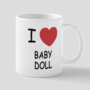 I heart baby doll Mug