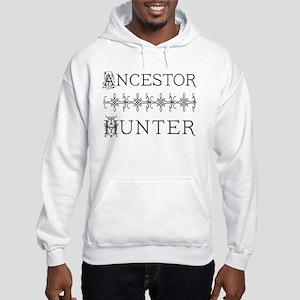 Genealogy Ancestor Hunter Hooded Sweatshirt