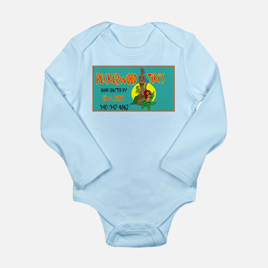 PECKERWOOD TIKI Long Sleeve Infant Bodysuit