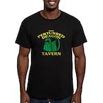 Perturbed Dragon Taver Men's Fitted T-Shirt (dark)