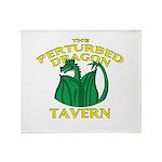 Perturbed Dragon Tavern Throw Blanket