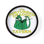 Perturbed Dragon Tavern Wall Clock