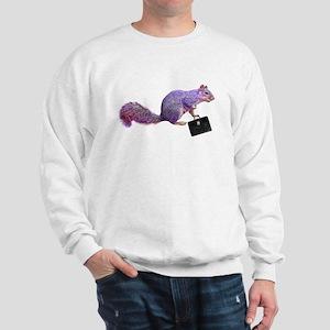 Purple Squirrel Sweatshirt