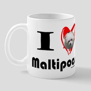 I Love Maltipoos Mug