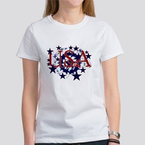 USA Stars Women's T-Shirt