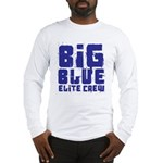Big Blue Elite Crew Long Sleeve T-Shirt
