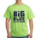 Big Blue Elite Crew Green T-Shirt
