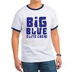 Big Blue Elite Crew Ringer T
