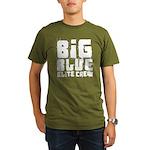 Big Blue Elite Crew Organic Men's T-Shirt (dark)