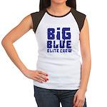 Big Blue Elite Crew Women's Cap Sleeve T-Shirt