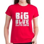 Big Blue Elite Crew Women's Dark T-Shirt