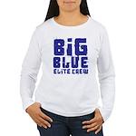 Big Blue Elite Crew Women's Long Sleeve T-Shirt