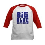 Big Blue Elite Crew Kids Baseball Jersey