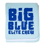 Big Blue Elite Crew baby blanket