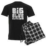 Big Blue Elite Crew Men's Dark Pajamas
