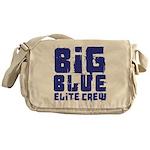 Big Blue Elite Crew Messenger Bag
