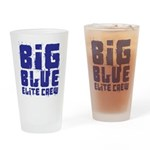 Big Blue Elite Crew Drinking Glass